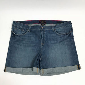 Lucky Brand Women's Plus Size Ginger Shorts 24W